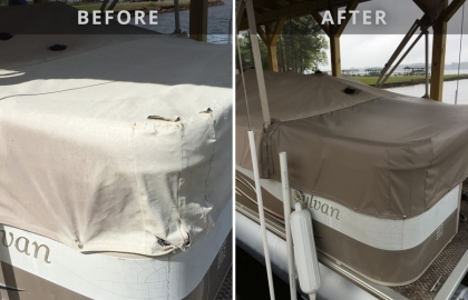 Canvas Cover Repair